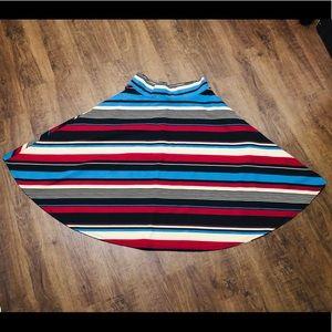 Agnes & Dora Swing Skirt 80's Style w Pockets L